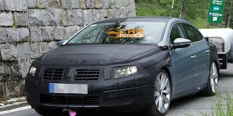 2012 Volkswagen Passat CC spy shots