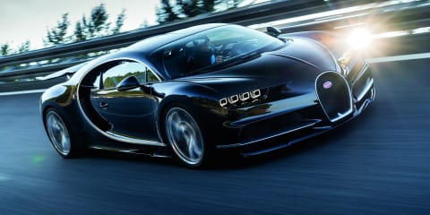 Bugatti Chiron performance hybrid currently under evaluation