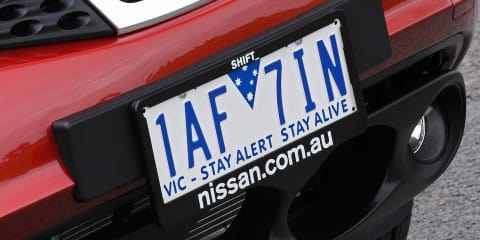 New Victorian number plates rattle auto recognition technology