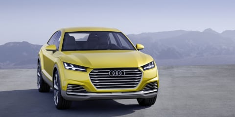 2020 Audi Q4 to sport TT Offroad-inspired design - report