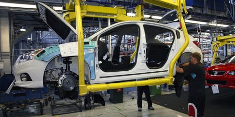 Jobs will go from automotive industry: government