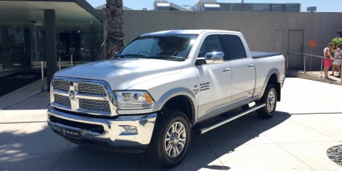 Ram trucks launch under new RHD distributor, priced from $139,500