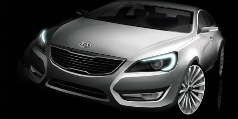 Kia releases first pics of VG sedan