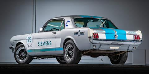 Self-driving Mustang wobbles its way up Goodwood hillclimb - video