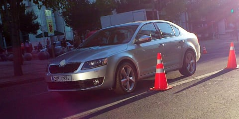 2013 Skoda Octavia caught undisguised