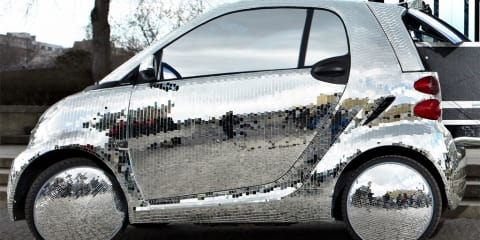 smart fortwo electric drive disco ball