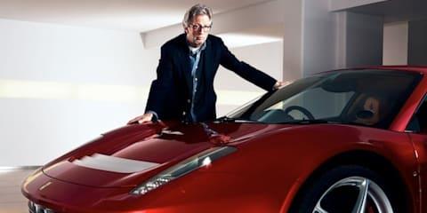 Ferrari SP EC: Eric Clapton's custom car officially released