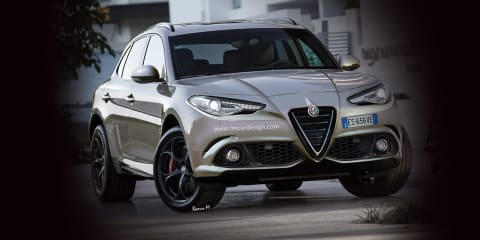 Alfa Romeo Stelvio name confirmed for new SUV, Giulia production starts March