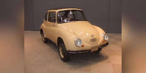 Subaru 360 designated an engineering heritage item in Japan
