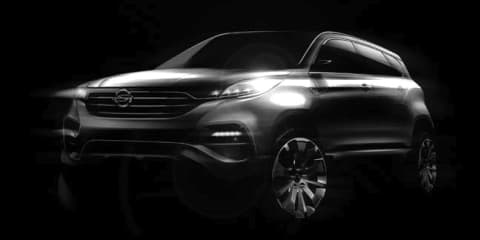 Ssangyong LIV-1 concept: sketches preview premium full-size SUV