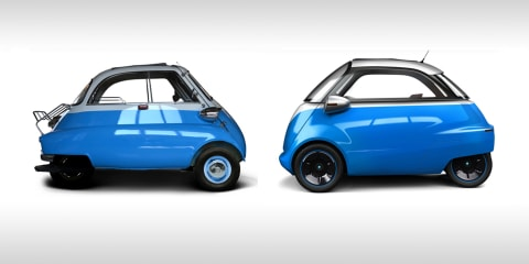 BMW Isetta 'bubble car' reborn