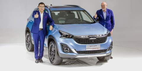 Qoros Model Young SUV revealed in China