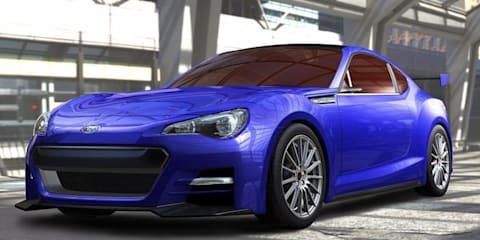 Subaru BRZ Concept - STI coming to 2011 LA Auto Show