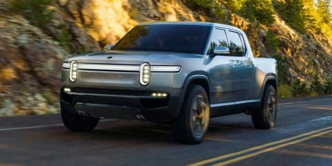 Rivian R1T electric ute revealed for LA