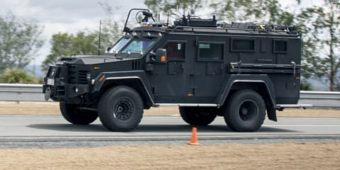 Queensland Police SERT Lenco Bearcat G3 review