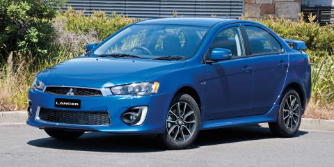 2016 Mitsubishi Lancer facelift brings extra equipment to ageing small car