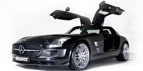 Mercedes-Benz SLS by BRABUS