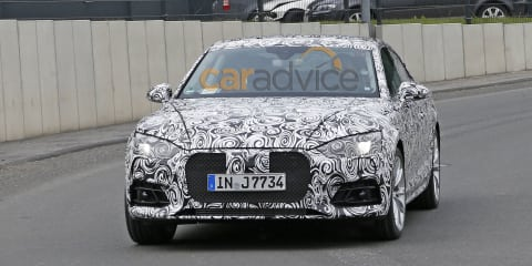 2017 Audi S5 spy photos