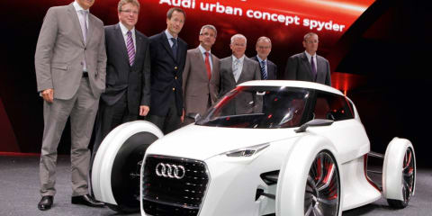 Audi Urban Concept officially unveiled at Frankfurt Motor Show