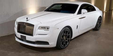 Rolls-Royce Wraith: Bespoke Black Badge arrives in Melbourne