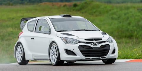 Hyundai i20 WRC completes test debut