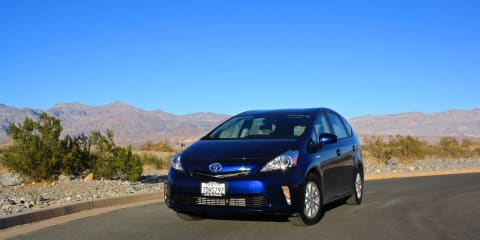 Toyota Prius V Review: Death Valley road trip