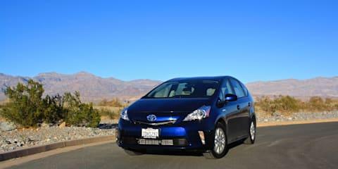 丰田Prius v评论:死亡谷公路旅行