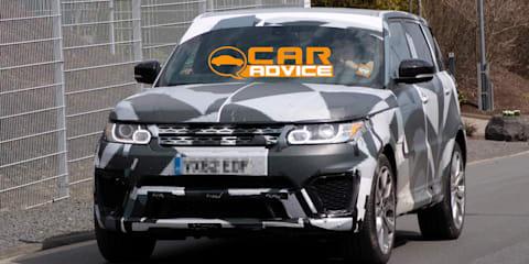 Range Rover Sport R-S: hardcore SUV spied
