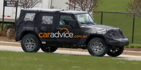 2018 Jeep Wrangler Unlimited spied: All-new 4WD comes out to play