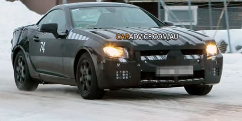 Mercedes-Benz SLK Spy Photos