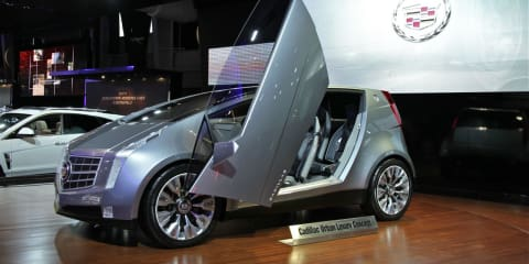 Cadillac Urban Luxury Concept at New York Show