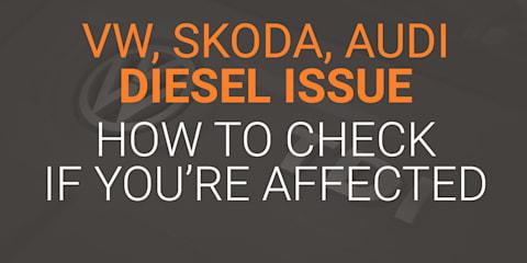 Australian Volkswagen, Skoda, Audi owners can check 'dieselgate' status online: 99,678 vehicles affected - UPDATE