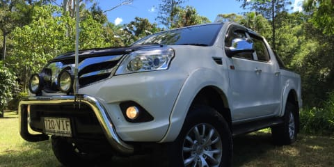 2015 Foton Tunland (4x4) Review