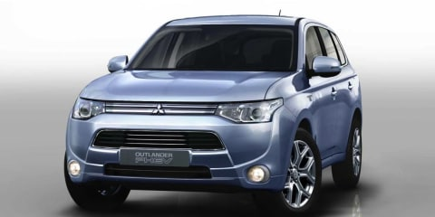 Mitsubishi Outlander PHEV revealed