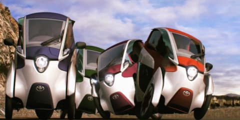 Toyota i-Road hits the streets