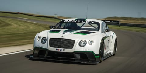 Bentley Continental GT3: 441kW racer unveiled at Goodwood