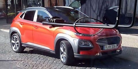 2018 Hyundai Kona: Tourist snaps undisguised car during video shoot