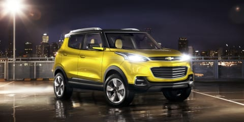 Chevrolet Adra concept : Holden designers play crucial role in new mini SUV