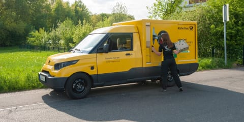 Deutsche Post DHL snubs Volkswagen by revealing its own electric delivery van