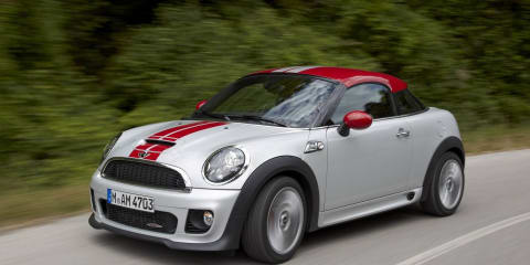 MINI Cooper Coupe revealed in full
