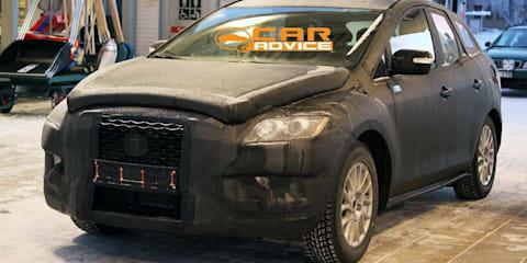 Mazda CX-5 compact SUV spy shots