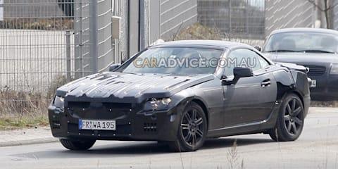 2012 Mercedes-Benz SLK prototype spied