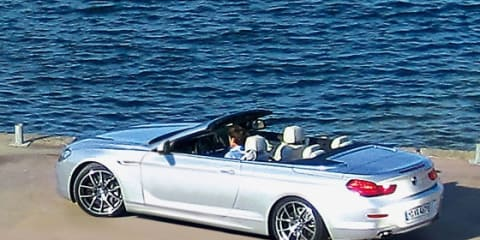 2012 BMW 6 Series convertible caught without camouflage