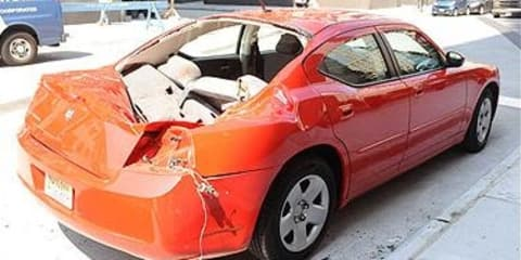 2008 Dodge Charger saves man from suicide
