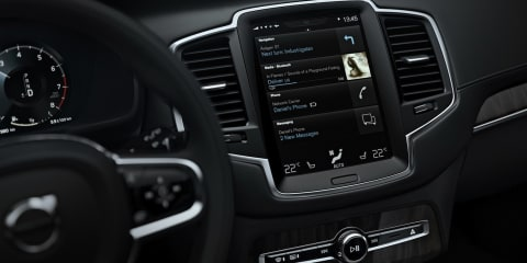 2015 Volvo XC90 :: smarter, safer infotainment system revealed