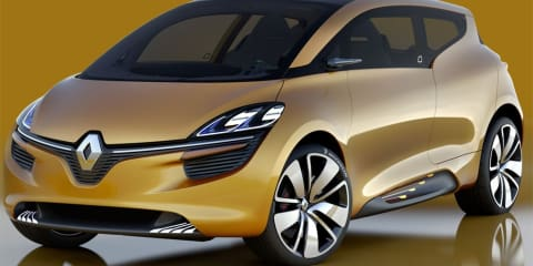 Renault R-Space concept unveiled at Geneva