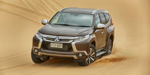 Mitsubishi Pajero Sport introduces new safety technology to brand's line-up