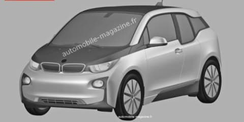 BMW i3 patent sketches revealed