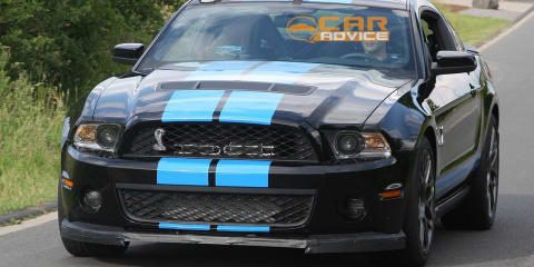 2013 Ford Shelby GT500 spied with twin-turbo?