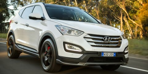 2015 Hyundai Santa Fe SR pricing and specifications